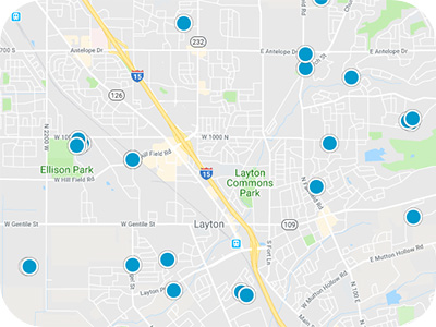 Northern Utah Real Estate Map Search