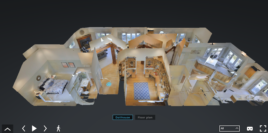 Matterport Glass House Plans Intrigue Buyers