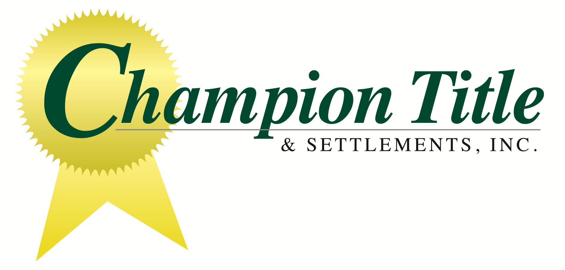 Champion Title logo