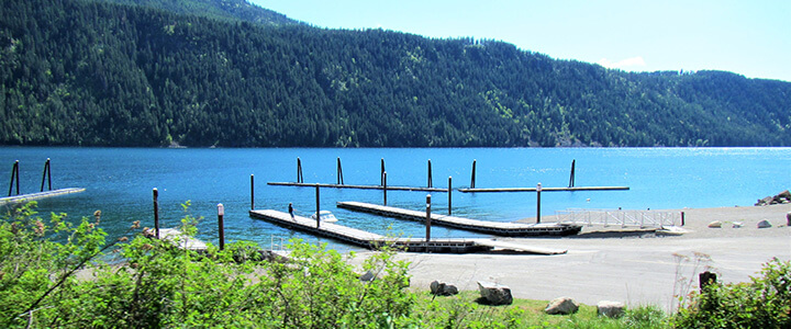 North Idaho Waterfront Homes for Sale