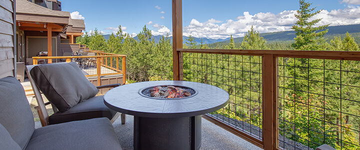 North Idaho Mountain View Homes for Sale