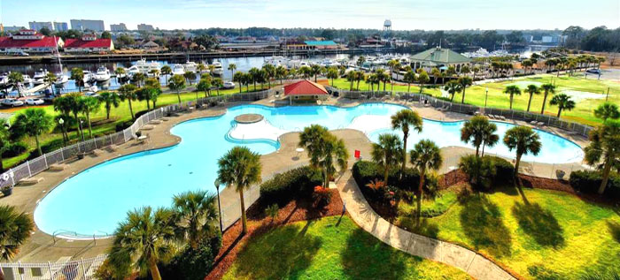Barefoot Resort Saltwater Pool