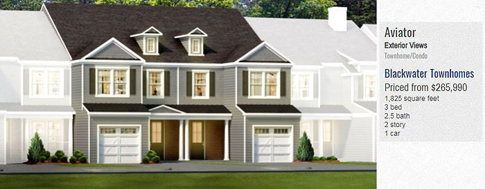 Blackwater Townhomes for Sale-Aviator Model