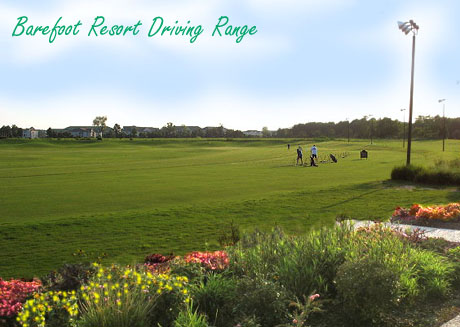 Barefoot Resort Driving Range