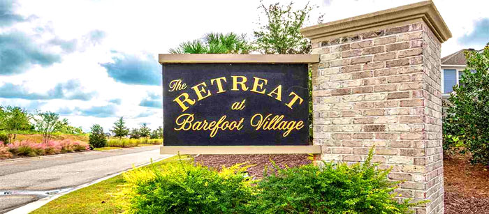 New Homes for Sale in The Retreat at Barefoot Village