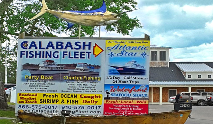 Fishing Charters in Calabash, NC