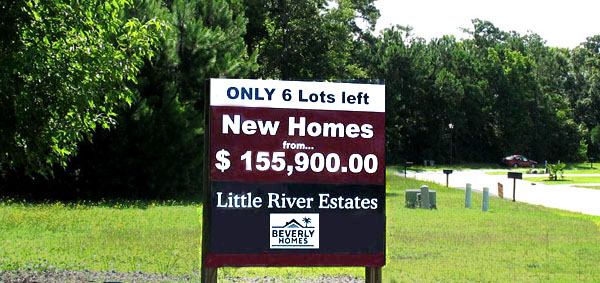 Homesites and Land for Sale in Little River SC
