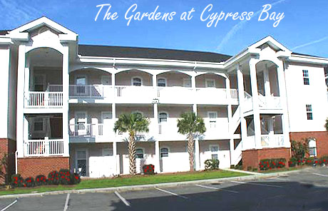 the Gardens at Cypress Bay Condos in Little River