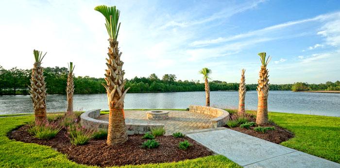 Lake in Hidden Brooke Community