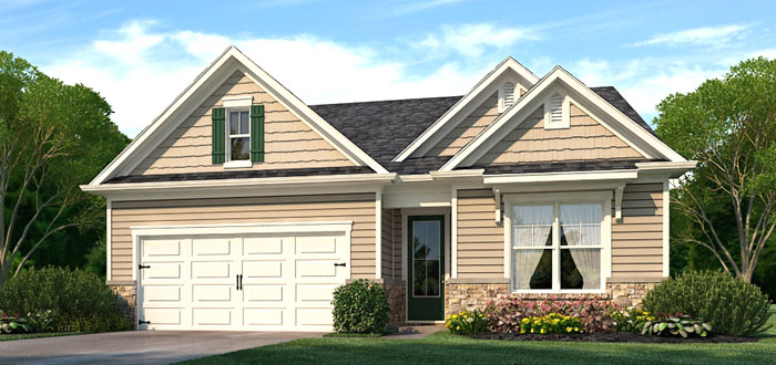 Claiborne Model Home in Bradford Meadows
