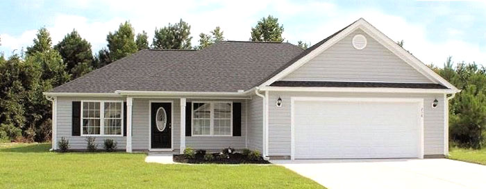 Bradford Meadows Hickory Model Home