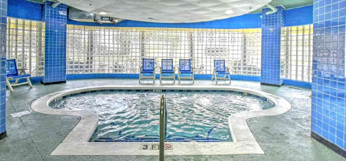 Indoor Pool at Avista Resort