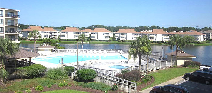Bermuda Run Pool in North Myrtle Beach