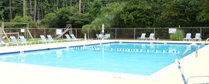 Pool in Briarcliffe Acres
