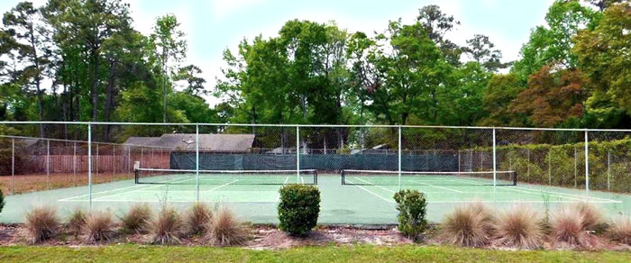 Tennis Courts in Briarcliffe West