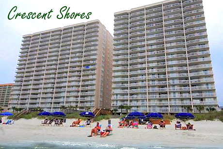 Crescent Shores Condos Myrtle Beach