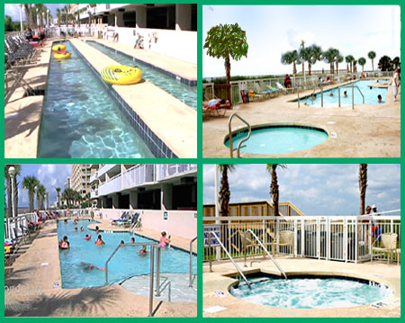Crescent Shores Pool Amenities