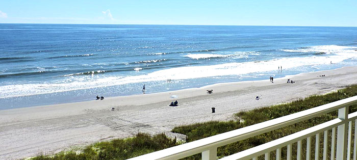 Balcony View from San-a-bel in North Myrtle Beach