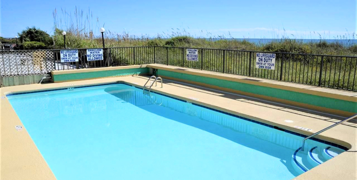 Pool at Sea Castle, NMB