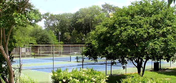 Tennis Courts near Sea Gardens Townhomes
