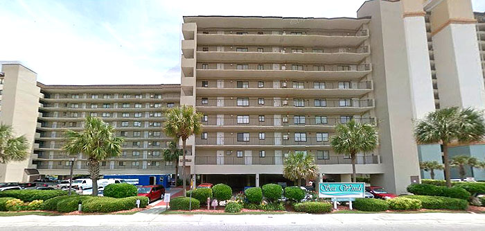 Sea Winds Condos in North Myrtle Beach SC