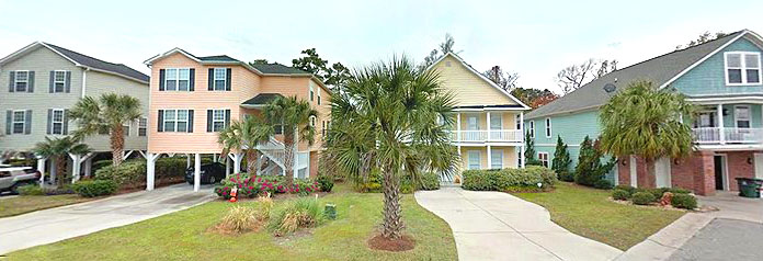 Homes in Belle Grove Plantation - North Myrtle Beach