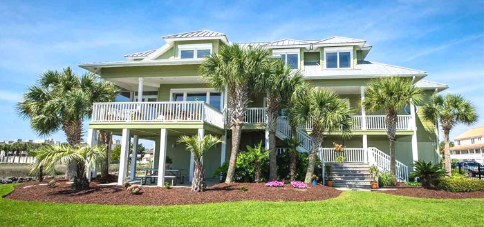 A Cherry Grove Channel Home