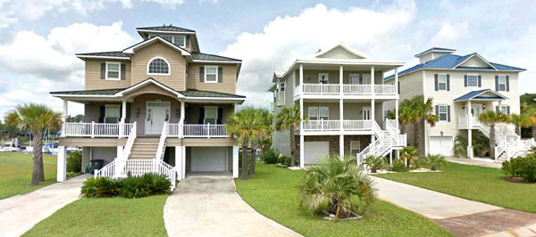 North Myrtle Beach Homes