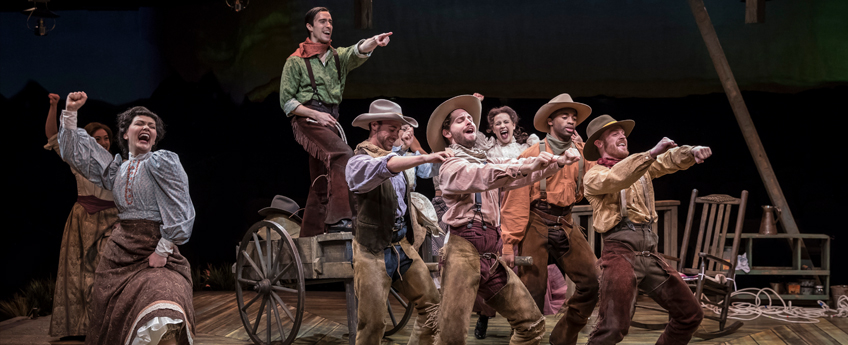 stage play of Oklahoma
