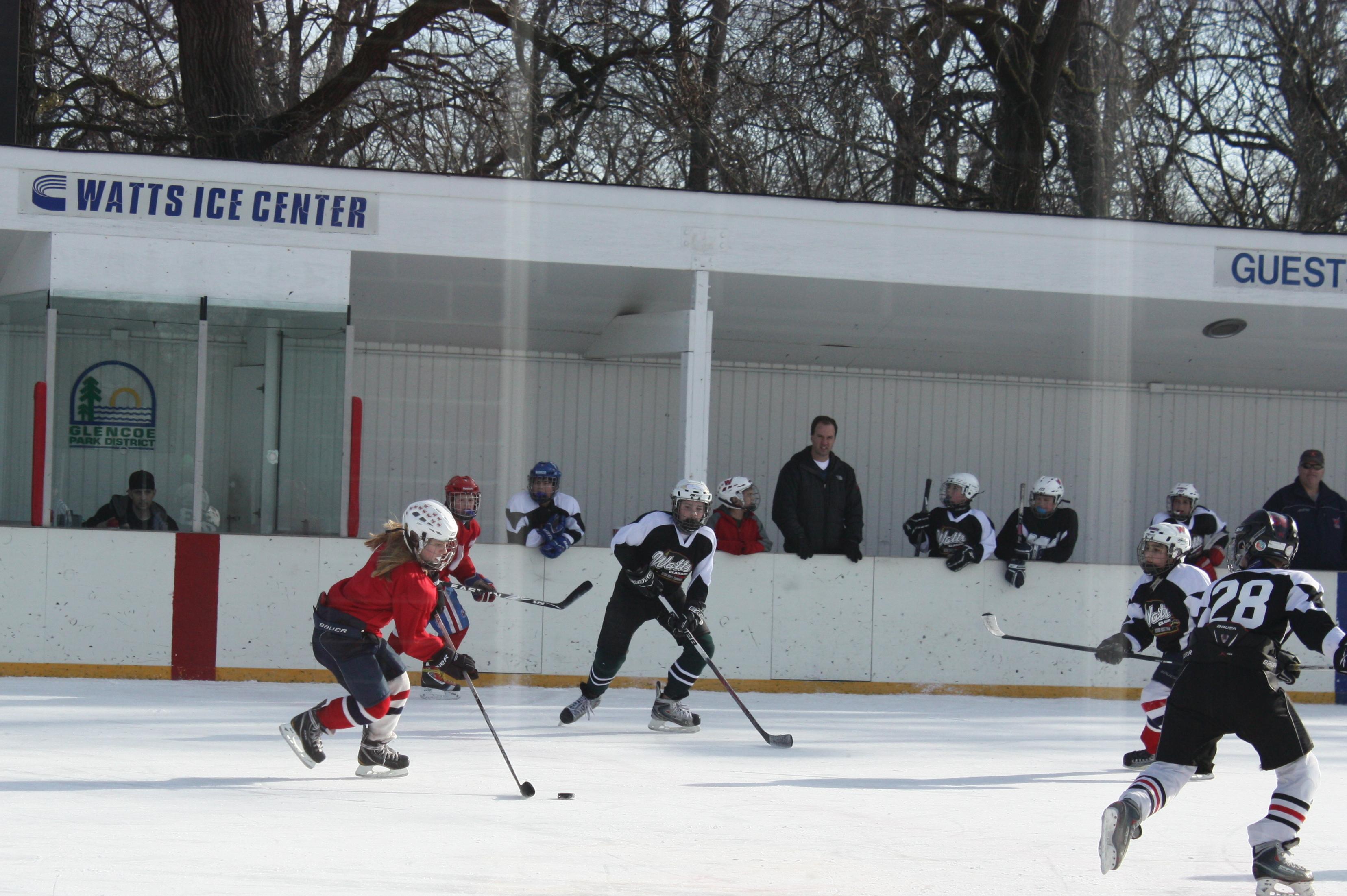 Watts Park Ice Rink, Glencoe IL