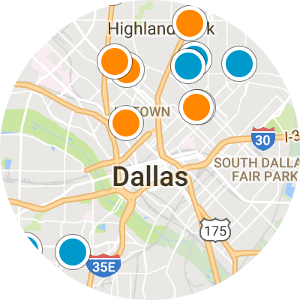 Dallas Interactive Map Search