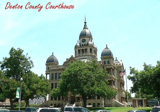 Denton TX Real Estate - County Courthouse