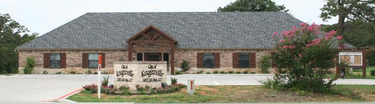 Krugerville Texas Real Estate Krugerville City Hall