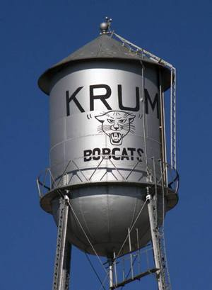 Krum TX Real Estate Search Water Tower