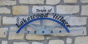 Lakewood Village Texas Real Estate - Lakewood Village Sign