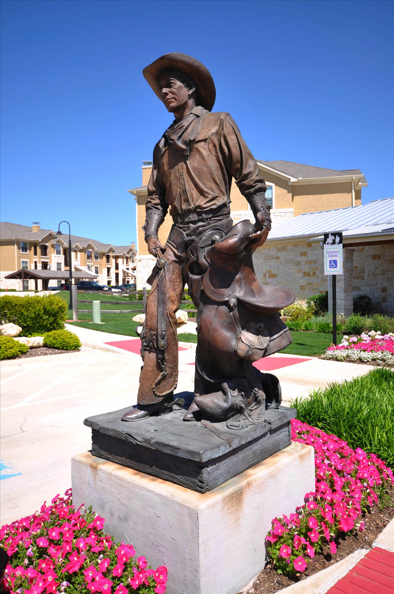Northlake Texas Real Estate Cowboy Statue
