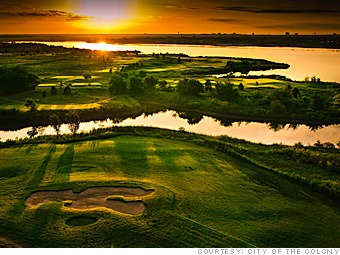 The Colony Texas Real EState Golf Course