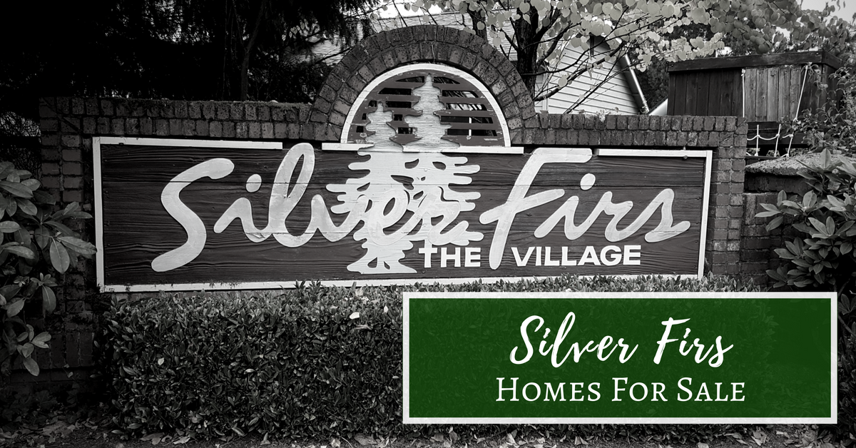 Silver Firs Homes For Sale Sign