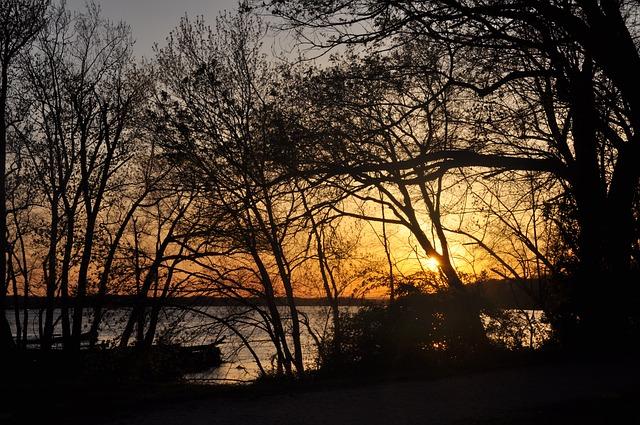Sunset On The Potomac River From Alexandria, VA