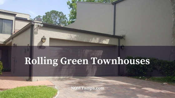 Rolling Green Townhouses in Carrollwood Florida
