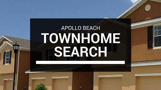 Apollo Beach Townhome Search