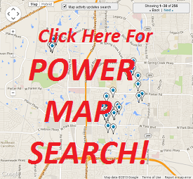 Zip Code Power Interactive Map Search