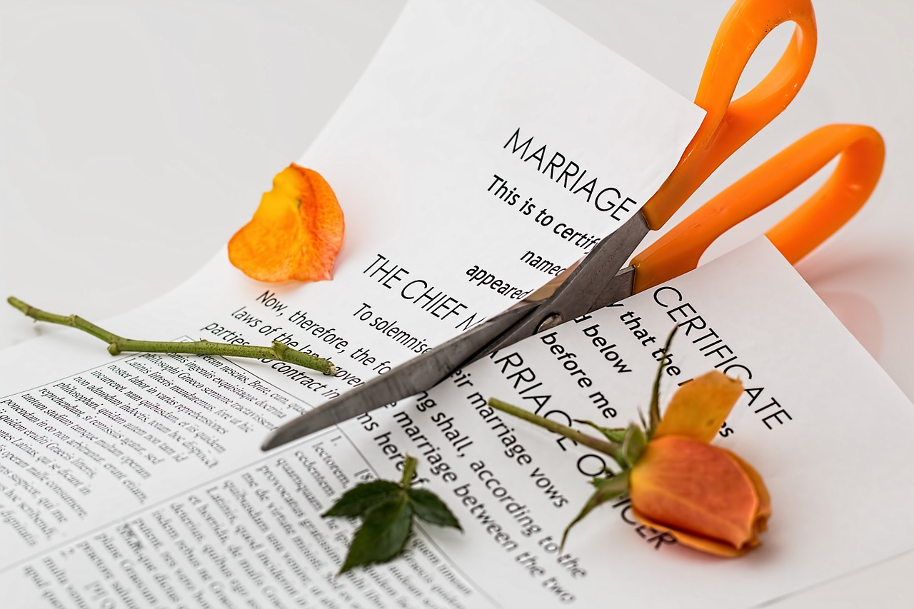 Dividing property in a divorce settlement requires care and compassion.