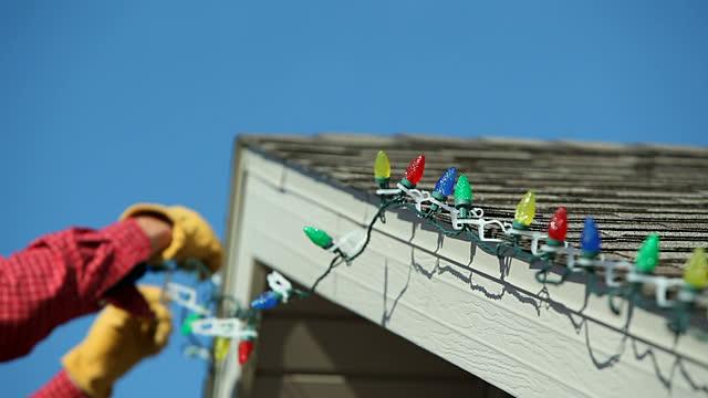 Tips For Hanging Christmas Lights