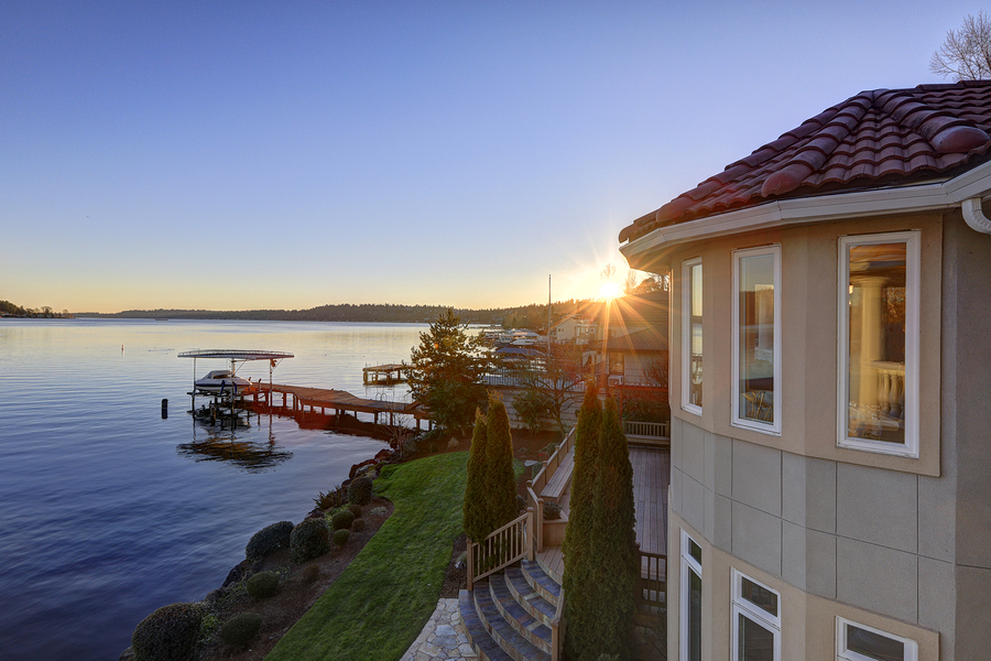 West Of Market Homes Overlook Lake Washington