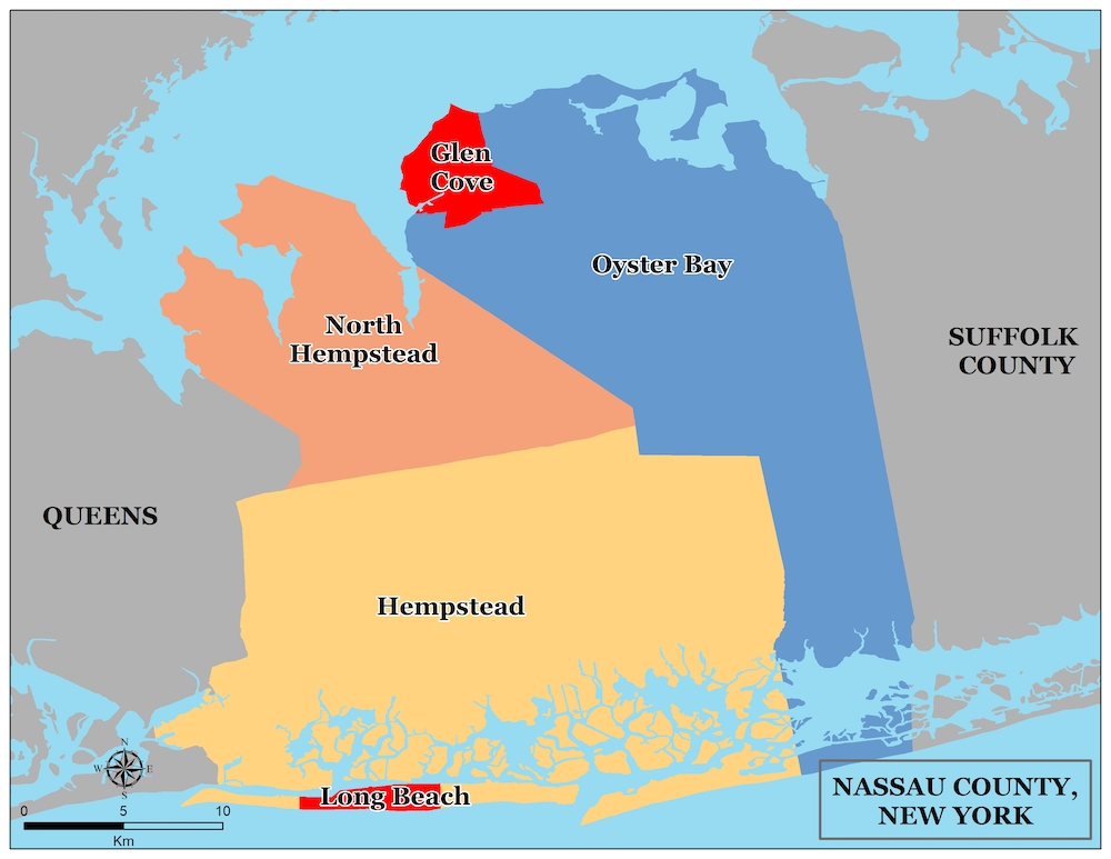 Nassau County Towns Long Island