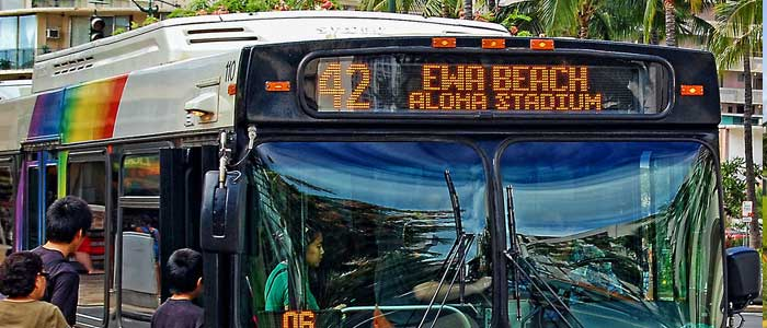 Transportation in Ewa Beach Oahu