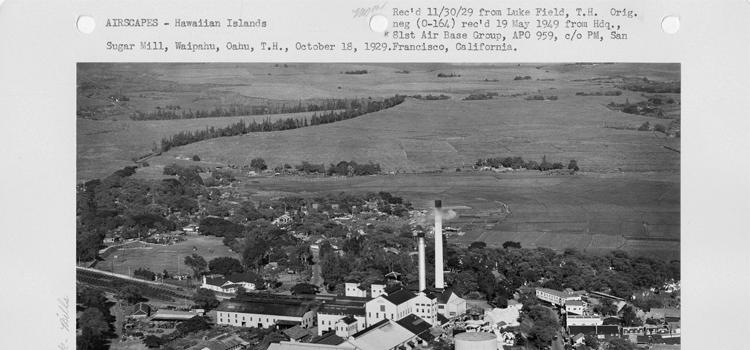 Waipahu Oahu sugar plantation history