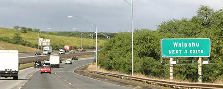 Waipahu Oahu transportation