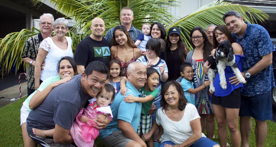 family in hawaii